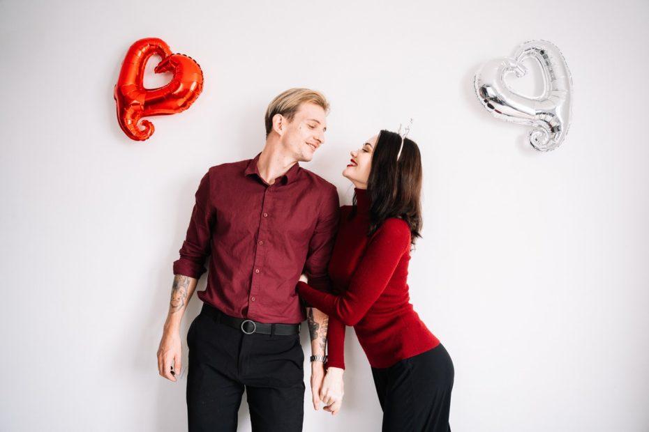 Ex Freundin am Valentinstag schreiben