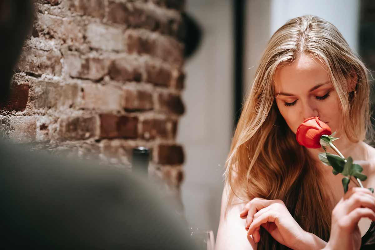 Ex Freundin Blumen schenken